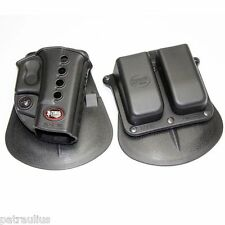 GLOCK CONCEALED HOLSTER + MAG HOLDER FOR GLOCK 17/19/22/23/26/31/32/34/35