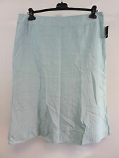 frank walder aqua a-line rose skirt SIZE 42 / 16 RRP £76 BRAND NEW BOX8501 Y