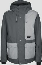 BILLABONG Men's SPACE Snow Jacket - Grey - Medium - NWT