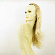 DT Half wig HairPiece golden blond poly mesh very light blond 24.4 :13/24bt613