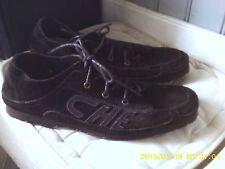 chaussures bateau neuves CHEVIGNON daim brun .t 41. (B/N)