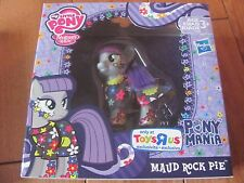 My Little Pony 2014 MAUD ROCK PIE Pony Mania TRU Exclusive Figure NEW