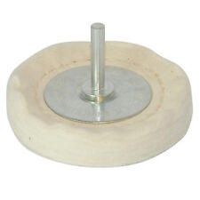 75mm x 12mm-Loose Leaf Buffing/Polishing Wheel - 6mm Shaf -For Power Drills
