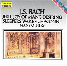 Bach: Jesu, Joy of Man's Desiring (CD, Feb-1993, Quintessence); NM