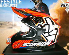 SCORPION EVO VX-15 BAGOROS Pumpsystem Cross Enduro Helm KTM SXF Honda CR-F NEU M