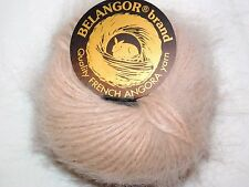 Elegant Nude CLASSIQUE Galler BELANGOR 100% ANGORA Rabbit Fur X-SOFT Luxury Yarn