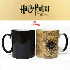Harry Potter Map Hot Temperature Sensitive Color-Changing Coffee Milk Mug Cup