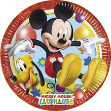 Disney Mickys Clubhaus Party 23cm Papierteller - 8-pack