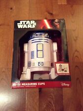 Star Wars R2-D2 Measuring Cups 9 Measuring Units Cups New Rare Disney VII
