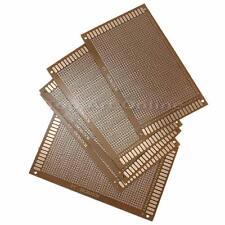 5x Lochrasterplatte 9x15cm Leiterplatte Streifenraster Platine PCB Breadboard