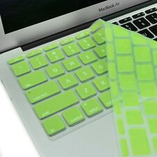 "NEW Apple Green Silicone Keyboard Cover Skin for Macbook Air 11"" Model A1465"