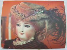 Ex-Large Postcard ~ Fashionable Lady Doll of the 1870's Picture - Collectible