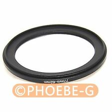 77mm to 62mm 77-62 Step down Filter Ring  Adapter