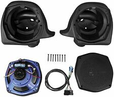 J&M - HLPS-7252 - Rokker Series XT Lower Fairing Speaker Kit, 140+W~