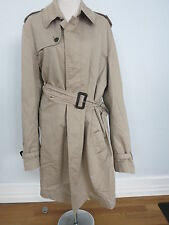 BURBERRY LONDON beige trench coat size 56 US XL