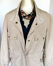 Coldwater Creek Petite 16 Beige Fall Jacket Excellent