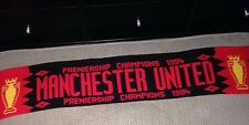 Manchester United Premiership Champions 1994 Football Scarf COLLECTABLE MUFC