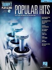 Popular Hits: Trumpet Play-Along Volume 1 (Hal Leonard Trumpet Play-Along), Hal