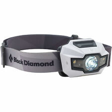 Black Diamond Storm LED Headlamp Head Lamp w Night Vision 4-AAA blk 160 lumen wh