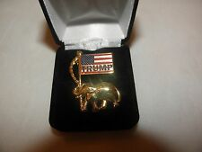 TRUMP PRESIDENT LAPEL PIN BUTTON REPUBLICAN GOP CANDIDATE ELECTION USA FLAG NEW!