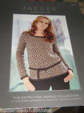Jaeger Handknits Knitting Book JB38 Extra Fine Merino 16 designs  2006