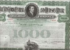 THE NEW YORK CENTRAL AND HUDSON RIVER RAILROAD COMPANY....GOLD BOND DUE 1997