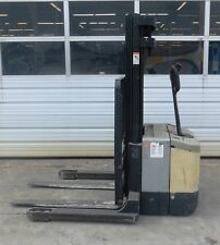 CROWN 1999 PALLET STACKER FORKLIFT, WS2000-40, S/N: 5A103093, 4,000 LB. CAPACITY