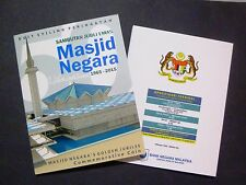 Malaysia Masjid Golden Jubilee 1 Ringgit Comm. Nordic Gold Coin Card 2015