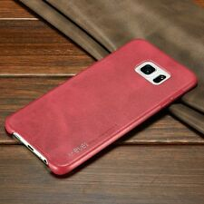 Retro Vintage Slim Genuine Leather Back Case Cover For Samsung Galaxy Model S001