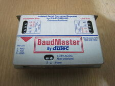 Dutec BaudMaster BM-100 Isolated Serial Converter for RS-232/422/485  9-24 V