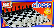 New CHESS Set Traditional Board Game 35.5 X 35.5 cm Family Fun Nice Gift