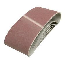 5pk 40 Grit Abrasive Power Sanding / Sander Belt - 76mm x 533mm