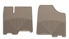 Weathertech All Weather Front Tan Floor Mats (W202TN) -2011-12 Toyota Sienna