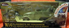 RC M-16 US half-track , 5 Channel , Light and Sound, Torro,1:16, New
