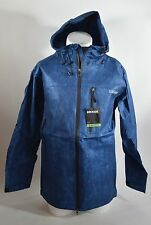 2016 NWT MENS GRENADE CHEM SHELL JACKET $120 L blue light polyolefin gloves