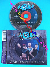 CD singolo Aqua Cartoon Heroes 156 382-2 EUROPE 2000 no mc lp vhs(S30)