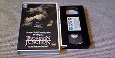 TWO MOON JUNCTION UK PAL VHS VIDEO 1990 Sherilyn Fenn Richard Tyson Erotic Film