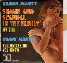 SHAWN ELLIOTT / DEREK MARTIN SKA RHYTHM N BLUES EP ROULETTE 65 036