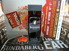 Bundaberg Rum Black Vat 244, In Limited Release Box + A3 Poster Rare