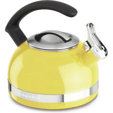 KitchenAid 2.0-Quart Kettle with C Handle and Trim Band in Citrus Sunrise