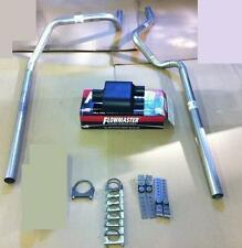 Dodge Dakota 87-96 Dual Exhaust Kit + Flowmaster Super 10