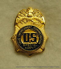 US DEA Special Agent  badge lapel pin w/ US seal  Federal Police  CIA FBI NSA