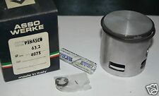 Z 4075 ASSO Pistone Completo per Cilindro Pinasco Piaggio Vespa PX SPRINT D 63,2