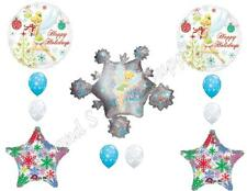 TINKERBELL SNOWFLAKES CHRISTMAS PARTY Balloons Decoration Supplies Holidays