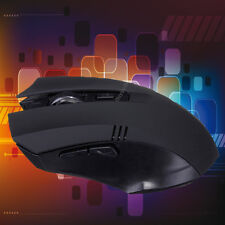 2.4GHz 6D Ratón Wireless Óptico Gaming Mouse para Laptop Ordenador PC + Receiver