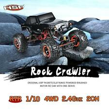 HSP 94180T2 1/10 2.4G 2CH 4WD Electronic Brushed Motor Rock Crawler RC Car A6D2