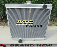 3 Rows 52mm  Aluminum Radiator for Ford XY XW 302 GS GT 351 cleveland