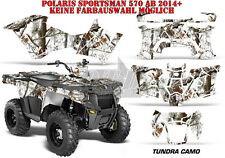 Amr racing decoración Graphic kit ATV Polaris sportsman modelos tundra camo B