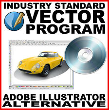 Adobe Illustrator Compatible Vector Program: CS Equivalent  - Graphic Design
