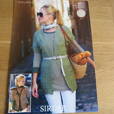 Sirdar Simply Recycled DK Pattern No. 9431 - Jackets